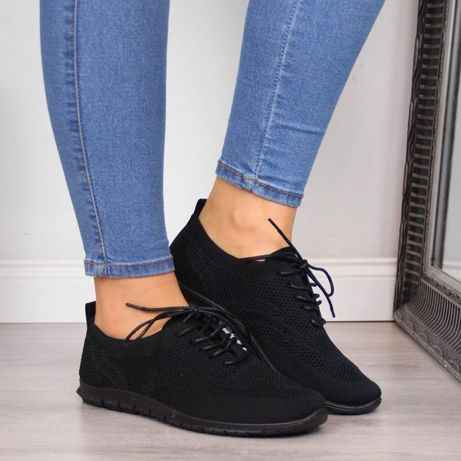 Buty sportowe damskie lekkie czarne McKey