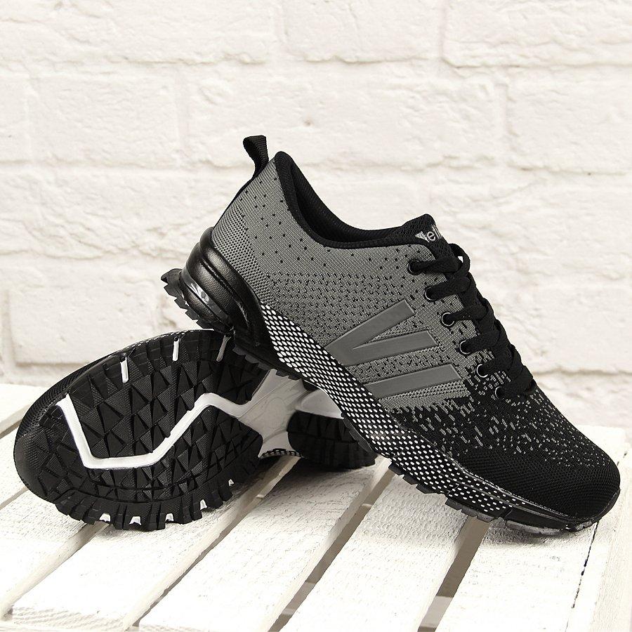 Czarno szare buty sportowe męskie Atletico