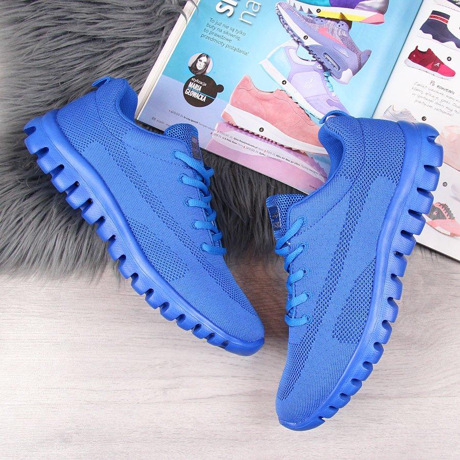Buty sportowe lekkie przewiewne niebieskie Big Star